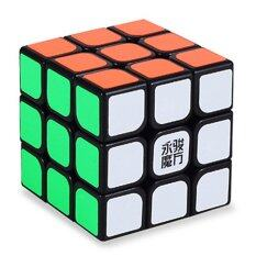[สินค้า Yj] ความเร็วอาชีพมังกร Rdy Rubik เรียบรูปปริศนา 3 X 3-สีดำ.