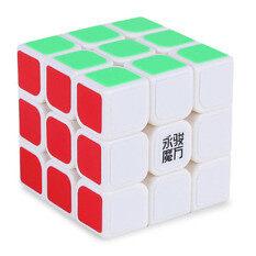 [สินค้า Yj] ความเร็วอาชีพมังกร Rdy รูบิคเรียบรูปปริศนา 3x3-ขาว.