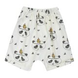ความคิดเห็น Summer Children Boys Lovely Cute Panda Printed Fashion Short Pants Intl
