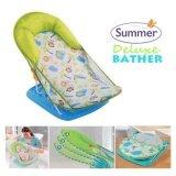 ทบทวน ที่สุด ที่รองอาบน้ำ ลายใหม่ Summer Mother S Touch Deluxe Baby รุ่น Safari สีเขียว