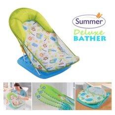 ที่รองอาบน้ำ ลายใหม่ Summer Mother S Touch Deluxe Baby รุ่น Safari สีเขียว กรุงเทพมหานคร