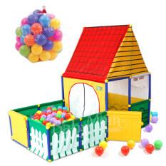 Sunny Babymom Neolife-Sunny House เต็นท์บ้านบอล บ้านบอล พร้อมคอก ฟรีบอล Nontoxic 40 ลูก By Aday Baby Shop.