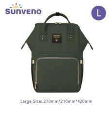 ซื้อ Sunveno แฟชั่นแม่คลอดกระเป๋าผ้าอ้อมกระเป๋าสะพายหลังคลอดกระเป๋าสะพายหลังคลอด Desinger กระเป๋าสำหรับดูแลทารก นานาชาติ ใน จีน