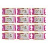 ราคา Sweet Baby Wipes เบบี้ไวพส์ 80แผ่น X 12ห่อ สูตรเซนส์ซิทีฟ ใน ไทย