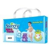 Sweety กางเกงเด็ก สวีทตี้ สมาร์ทเพ้นต์ ไซต์ M 22 ชิ้น Sweety ถูก ใน ไทย