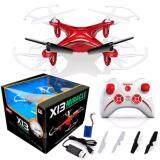 ราคา Syma โดรนเครื่องบินรีโมทบังคับ X13 สีแดง โดรนบังคับ Drone เครื่องบินบังคับ