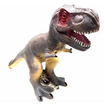 ไดโนเสาร์ T-Rex ตัวนิ่ม บีบได้ เพื่อความปลอดภัย ขนาด กว้าง11 สูง26 ยาว50 Cm.
