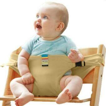 TAF ของเล่นเด็กรับประทานอาหารเข็มขัดที่นั่งเด็กแบบพกพาเก้าอี้เด็ก BB/เข็มขัดนิรภัยสิทธิบัตร