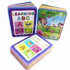 The Little Toys หนังสือโฟมหัดอ่าน เสริมพัฒนาการสำหรับเด็ก 1 ชุด 3 เล่ม  .