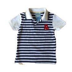 ความคิดเห็น The Little Winter เสื้อโปโลเด็กชายลายขวางขาว รุ่น Classic Polo