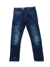 ราคา The Little Winter กางเกงยีนส์เด็กสุดเท่ห์ แนวเซอร์ แต้มสี รุ่น Sn 005 S3 ที่สุด