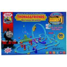 Thomas & Friends (รถไฟตีลังกา) Train Set 86 Pieces With 360 Rotation (multicolor)  .