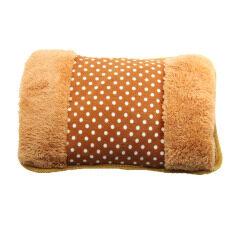 ซื้อ ถุงน้ำร้อนหรือกระเป๋าน้ำร้อนไฟฟ้าลายจุด สีน้ำตาลอ่อน ถูก ไทย