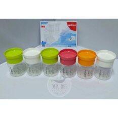 ถ้วยเก็บน้ำนมคละสี ยี่ห้อคาเมร่า (แพ๊ค 6ขวด) สามารถนำกลับมาใช้งานได้ไม่จำกัดจำนวนครั้ง.