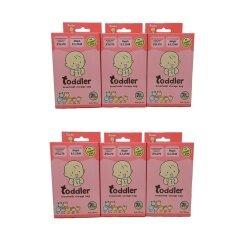 Toddler ถุงเก็บน้ำนมแม่ 7 สี 7 ลาย (4 Oz/6 กล่อง).
