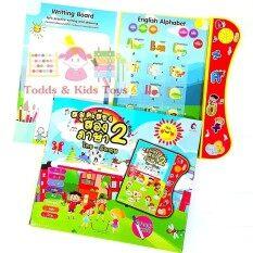 Todds & Kids Toys สมุดเสียงสองภาษา ไทย-อังกฤษ+ปากกาเมจิเเละหัวลบ By Todds & Kids Toys.