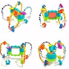 Todds & Kids Toys ของเล่นเขย่ามีเสียง ลูกปัด พร้อมยางกัดรูปทรงต่าๆง มีสีสันสดใส By Todds & Kids Toys.
