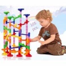 ขาย Todds Kids Toys Marble Race รางลูกแก้วหรรษา แบบประกอบเองตามจินตนาการ รุ่น105 Pcs ออนไลน์