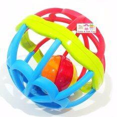 Todds & Kids Toys ของเล่นเสริมพัฒนาการบอลนิ่ม ยางกัด ลูกบอลแสนนิ่ม Bpa Free Baby Soft Ball.