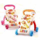 ขาย Todds Kids Toys รถผลักเดิน รถหัดเดิน มีคฑาดนตรี ปรับหนืดได้ สีชมพู ใน Thailand