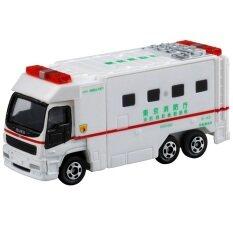 Tomica No 116 รถเหล็ก Super Ambulance White Tomica ถูก ใน ไทย