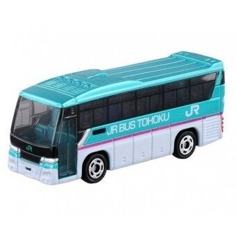 Tomica No.16 รถเหล็ก Isuzu Gala JR Bus Tohoku (Blue)