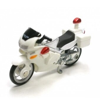 Tomica No.4 Honda VFR Police Bike (White)
