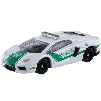 Tomica No.87 รถเหล็ก Lamborghini Aventador LP 700-4 Dubai Police (White)