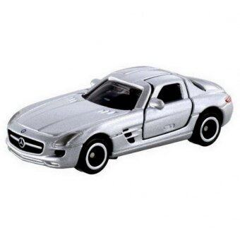 Tomica No.91 รถเหล็ก Mercedes-Benz SLS AMG (Grey)