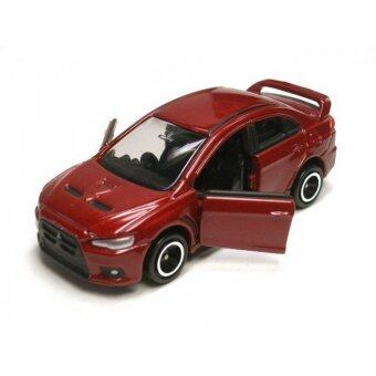 Tomica รถเหล็ก No.67 Mitsubishi Lancer Evolution X (Red)