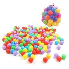 Toy ลูกบอลปลอดสารพิษคละสี 40 ลูก Nontoxic By Aday Baby Shop.