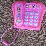 ราคา Toy ของเล่นเด็ก โทรศัพท์ปุ่มกด ดนตรี สีชมพู เป็นต้นฉบับ Toy