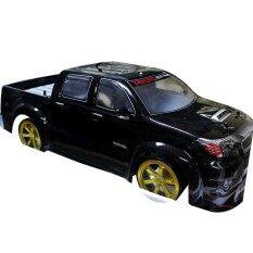 รถบังคับดริฟโม Toyota Hilux Vigo 1/10 +ไฟZenon