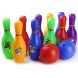 ส่วนลด T P Toys ของเล่นกีฬาพลาสติกลูกโบว์ลิ่งของเล่นสำหรับเด็กเกมลูก2ลูก 10ขวด กรุงเทพมหานคร