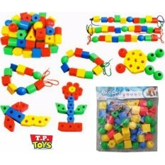 ซื้อ T P Toys ร้อยเชือกลูกปัด เม็ดใหญ่ ใหม่