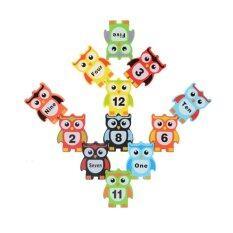 ราคา Trainandtoys ของเล่นเสริมพัฒนาการ ของเล่นไม้ชุดนกฮูกฝึกสมดุล Trainandtoys เป็นต้นฉบับ
