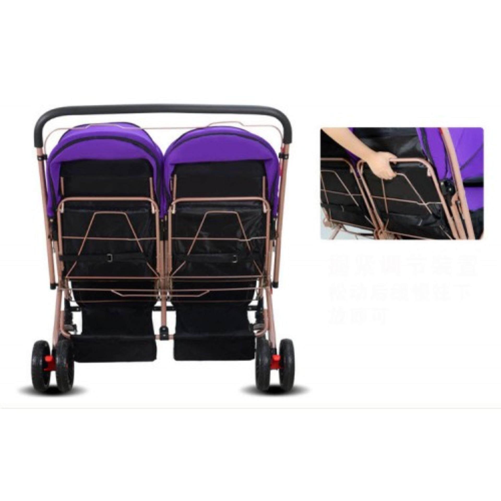 ลดราคาเพื่อคุณ Sweet Heart Paris รถเข็นเด็กแบบนอน Sweet Heart Paris BG203 Stroller รถเข็นเด็ก One Second Folding Portable Baby Buggy Stroller ร้านที่เครดิตดีที่1