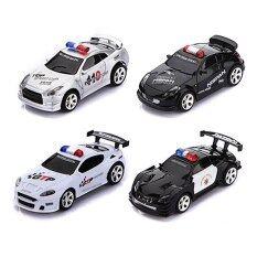 ขาย Uni รถบังคับวิทยุ รถบังคับดริฟ รถบังคับไฟฟ้า Mini Rc Remote Radio Control Racing Police Car Siren Led Light Children Toy Black White Intl Uni ผู้ค้าส่ง
