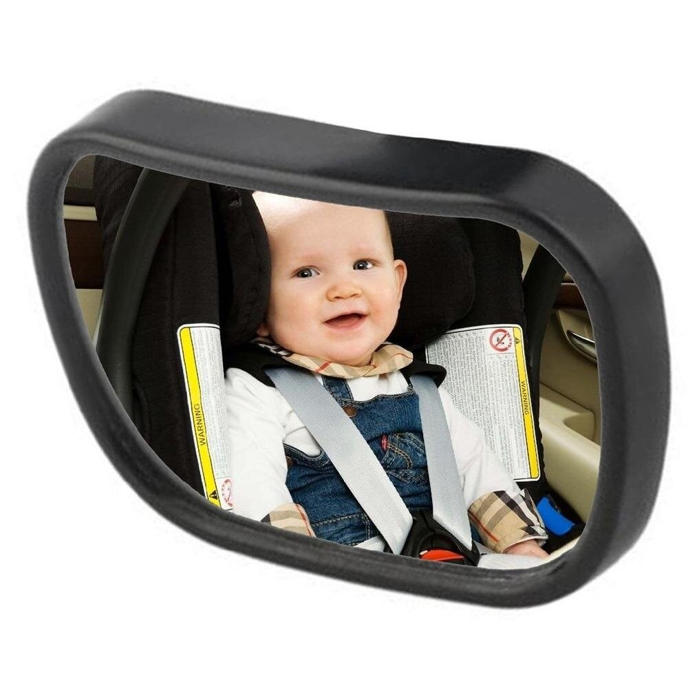 Universal 2 in 1 Baby Safety Rear View Mirror Portable Adjustable for Toddler - intl