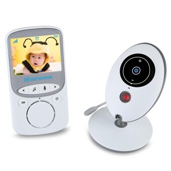 VB605 2.4GHz LCD Temperature Display Night Vision Wireless Baby Video Monitor - intl