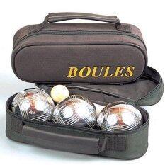 ขาย ซื้อ ออนไลน์ Viva Boules ลูกเปตองพร้อมกระเป๋า 1ชุด3ลูก ลาย3