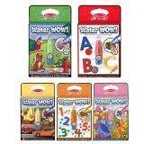 ราคา Water Wow สมุดชุดระบายสีด้วยน้ำ 5 เล่ม Animal Vehical Princess Abc และ 1 20 Melissa Doug ใหม่