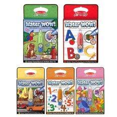 ขาย Water Wow สมุดชุดระบายสีด้วยน้ำ 5 เล่ม Animal Vehical Princess Abc และ 1 20 ออนไลน์