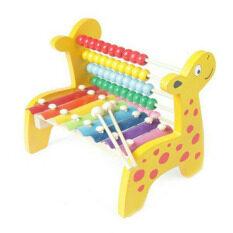 ราคา We Smith ของเล่นเด็ก ระนาดไม้รุ่นยีราฟ Toys Giraffe Xylophone เป็นต้นฉบับ