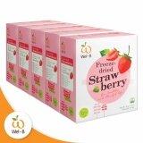 ซื้อ Wel B ผลไม้กรอบ Fd Strawberry 30 G สตรอเบอรี่กรอบ ตราเวลบี แพ็ค 5 กล่อง ถูก กรุงเทพมหานคร