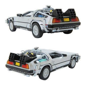 WELLY 1:24 กลับสู่อนาคตเครื่องเวลา DeLorean Die-Cast Metla Toy โมเดลรถ