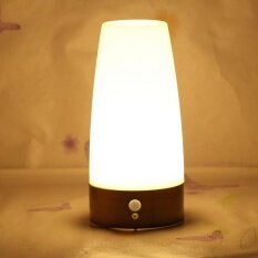 ขาย Wireless Motion Sensor Night Light Bedroom Battery Powered Led Table Lamp Intl จีน ถูก