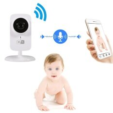 Wireless Network Wifi Security Camera Indoor Baby Monitor Video Ir Night Vision Eu Plug - Intl.