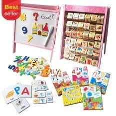 ขาย Oily Case เเพ็คคู่ กระดานเสริมทักษะ 2 In 1 Children Learn Flap Flash Cards ชุดบัตรคำการเรียนรู้และเสริมทักษะคุ้ม รวม 5 ชุด Oily Case ออนไลน์