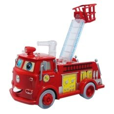 ราคา Worktoys ของเล่น รถดับเพลิง วิ่ง ชน ถอย มีเสียง มีไฟ ใหม่ล่าสุด